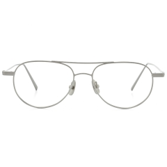 BILLY - An Aviator optical frame, BILLY features rims from classical Aviator models. Designed with angles in the edges of the frame, the fine yet strong lines featured in BILLY gives it the ability to leave an impression.