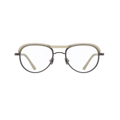 HIGHGROVE - Combination of metallic rims and transparent acetate, on the top of the front rim, allows the traditional aviator shape to be special. This acetate brow bar is well balanced with metallic frames, creating classical but unique vibes.