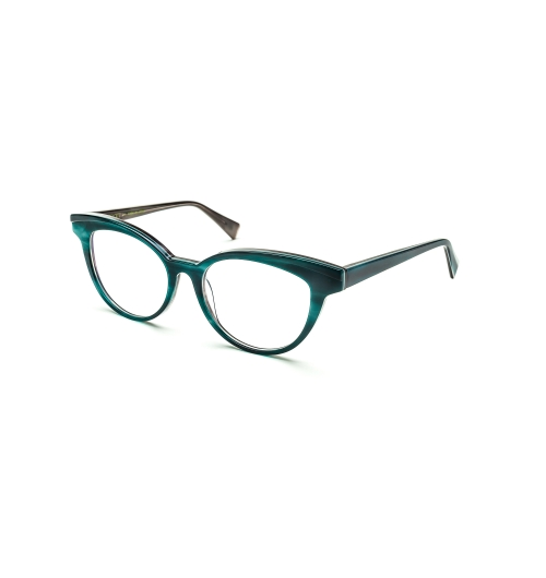 FARRO ISLES - A chiseled acetate featuring a step down, with sweeping lines and beautiful colors. Hand sculpted by Japanese artisans.