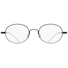 """LINER - """"LINER"""" is the one of STEALER's signature """"Air Series"""". This soft Oval frame is ultimately light, offering a comfortable fit. End pieces are bent nicely, creating a unique silhouette."""