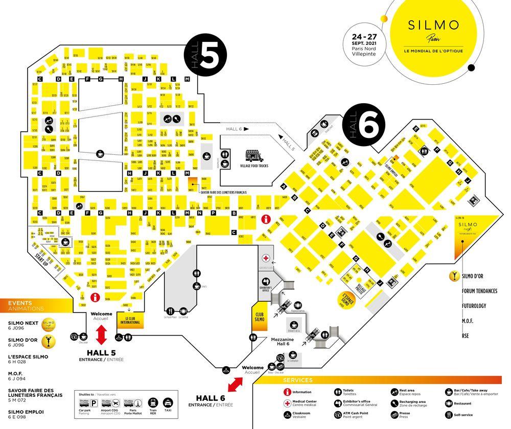 Plan SILMO Paris 2021 (17/09/2021)