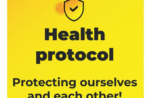 Health Protocol Infographic main image