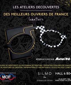 Affiche des ateliers découvertes du Meilleur Ouvrier de France