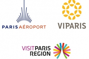Logos Aéroport de Paris VIParis Visit Paris Region