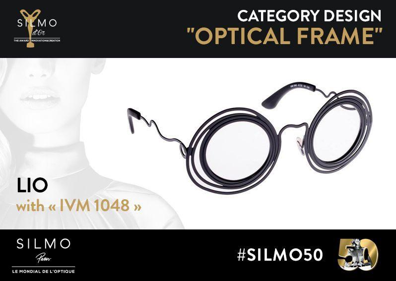 SILMO d'Or 2017 monture design optique