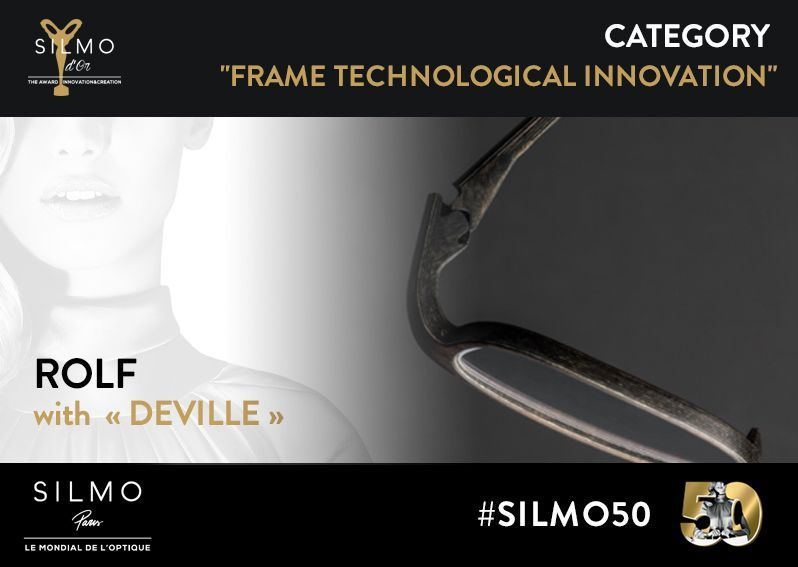 SILMO d'Or 2017 monture innovation technologique