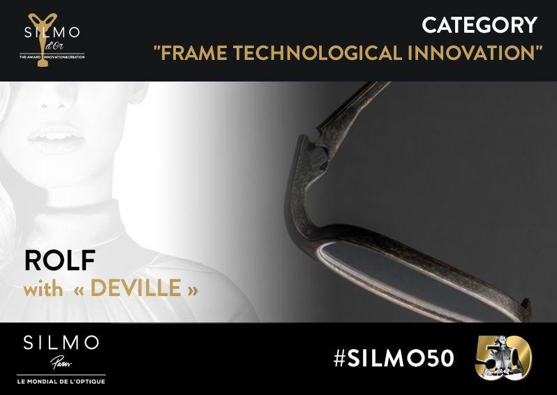 SILMO d'Or 2017 monture innovation technologique