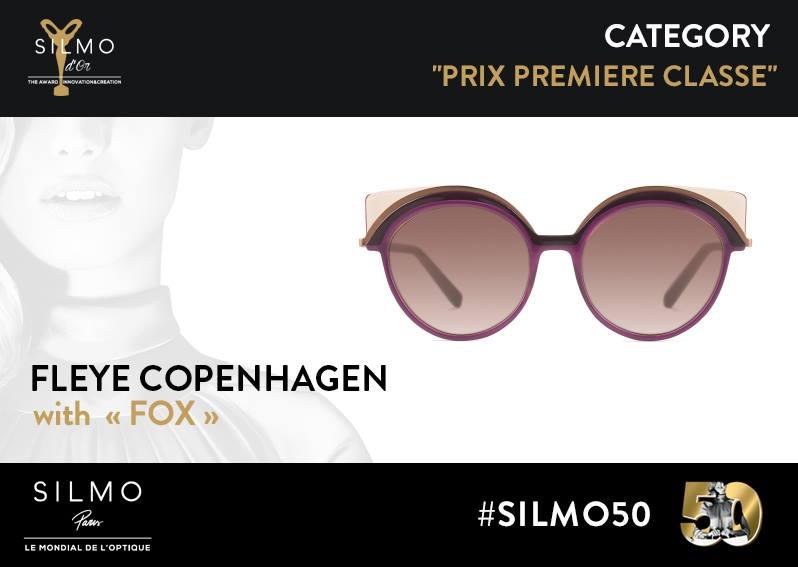 SILMO d'Or 2017 premiere classe